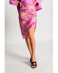 Samsøe & Samsøe Embroidered Skirt - Pink