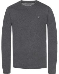 AllSaints - T-shirt With Long Sleeves - Lyst