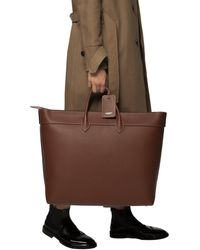 Burberry Leather Holdall Brown