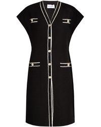 Ferragamo Cotton Dress - Black