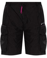 Off-White c/o Virgil Abloh Binder Clip Shorts Black