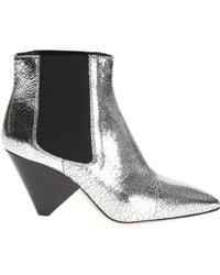 Isabel Marant 'dawell' Heeled Ankle Boots - Multicolour