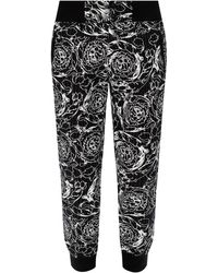 Versace Jeans Couture Barocco-printed Pants - Black