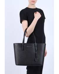 MICHAEL Michael Kors - 'jet Set Travel' Shopper Bag Black - Lyst