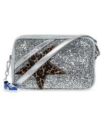 Golden Goose 'star' Shoulder Bag Silver - Metallic