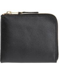 Comme des Garçons Leather Wallet - Black
