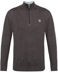 PS by Paul Smith Jumper With Logo - Grey