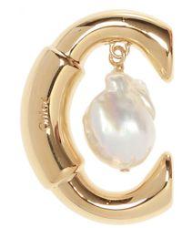 Chloé 'darcey' Logo Earring - Metallic