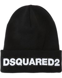 DSquared² - Logo-embroidered Hat - Lyst
