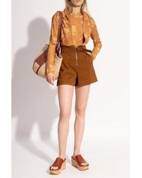 Nanushka Patterned T-shirt - Brown