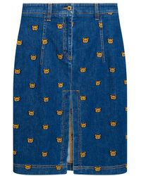 Moschino Denim Skirt - Blue
