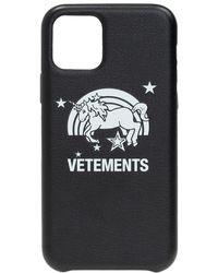 Vetements Iphone 11 Pro Case Unisex Black