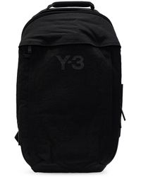 Y-3 Backpack With Pockets - Black