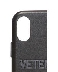 Vetements Iphone Xs Max Case Unisex Black