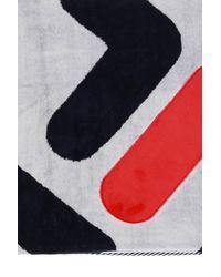 Fila Logo Towel - Blue