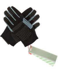 Off-White c/o Virgil Abloh Training Gloves - Gray