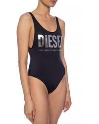 DIESEL One-piece Swimsuit Black