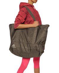 adidas By Stella McCartney Holdall Bag With Logo - Gray