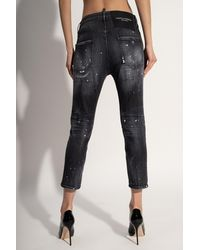 DSquared² 'cool Girl Cropped Jean' Jeans - Grey