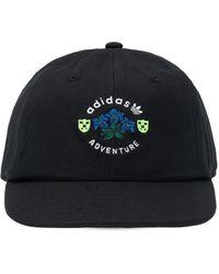 adidas Originals Baseball Cap With Logo Unisex Black