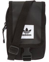 adidas Originals Logo Shoulder Bag - Black