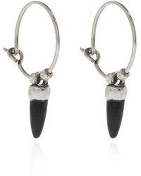 Isabel Marant Buffalo Horn Earrings - Metallic