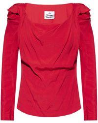 Vivienne Westwood - Long-sleeve Top Red - Lyst