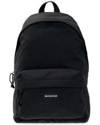 Balenciaga 'explorer' Backpack - Black