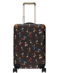 MICHAEL Michael Kors Printed Suitcase Brown