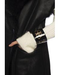 Balenciaga Branded Bracelet Black