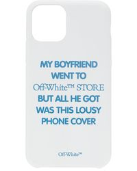 Off-White c/o Virgil Abloh Quote Iphone 11 Pro Case - White