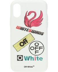 Off-White c/o Virgil Abloh Iphone X Case - White