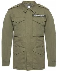 Burberry - Branded Jacket - Lyst