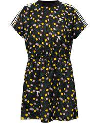 adidas Originals Patterned Dress With Logo - Black
