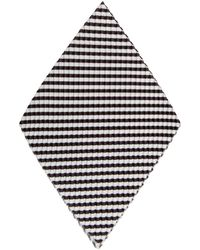 Homme Plissé Issey Miyake Pleated Pocket Square Black