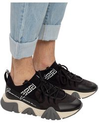 Versace - Sneakers With Logo - Lyst