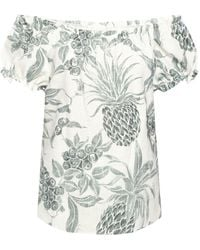 See By Chloé Patterned Top White