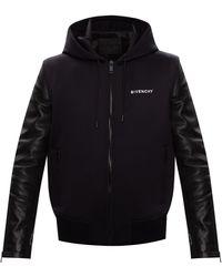 Givenchy Jacket With Logo - Black