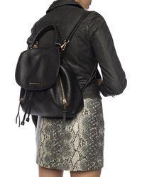 Michael Kors Branded Backpack - Black