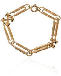 Off-White c/o Virgil Abloh Brass Bracelet - Metallic