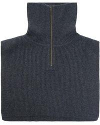 Samsøe & Samsøe Wool Collar - Grey