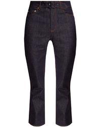 Erdem Jeans With Belt - Blue