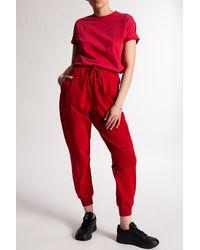 Vivienne Westwood Logo T-shirt Red