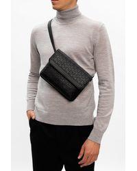 Ferragamo Branded Belt Bag - Black