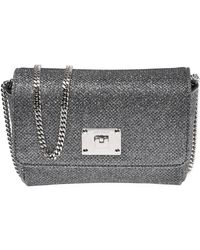 812e1243871 Lyst - Jimmy Choo Ruby Shoulder Bag in Black