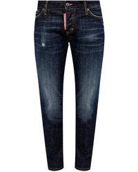 DSquared² 'jennifer Cropped Jean' Jeans Blue