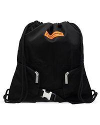 Heron Preston Backpack With Logo Black