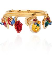 Dolce & Gabbana Appliquéd Bracelet - Metallic