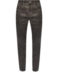 Étoile Isabel Marant - Trousers With Worn Effect - Lyst