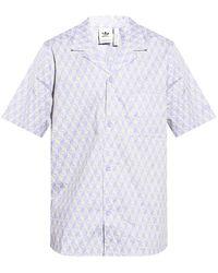 adidas Originals Short Sleeve Shirt Purple